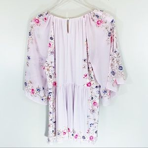 Anthropologie Tops - ANTHROPOLOGIE | One September Lilac Floral Blouse